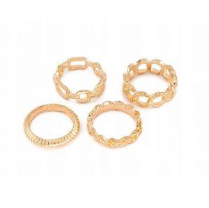Zestaw pierścionków Cameo