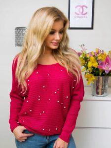 8477337673-sweter-czerwony